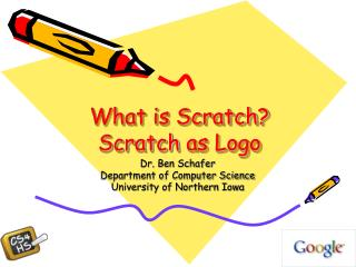 What is Scratch? Scratch  as Logo