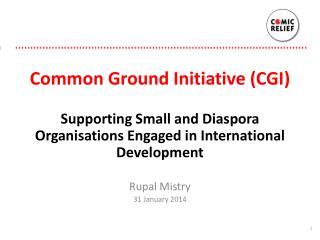 Common Ground Initiative (CGI)