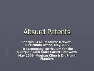 Absurd Patents