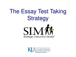 The Essay Test Taking Strategy