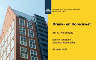Drank- en  Horecawet