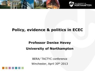 Policy, evidence & politics in ECEC