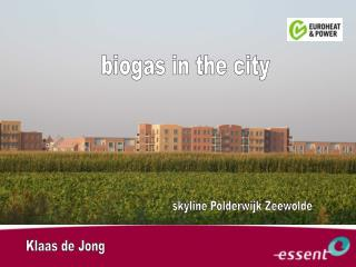 biogas in the city