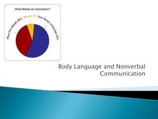 Body Language and Nonverbal Communication