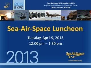 Sea-Air-Space Luncheon