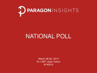 NATIONAL POLL