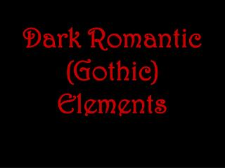 Spine-chillers and suspense: A timeline of Gothic fiction