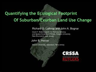 Quantifying the Ecological Footprint