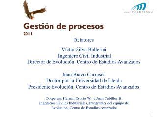 Gesti�n de procesos 2011