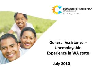 General Assistance – Unemployable Experience in WA state