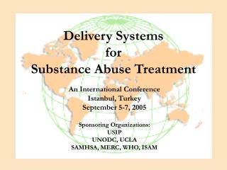 Delivery Systems  for Substance Abuse Treatment