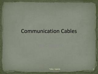 Communication Cables