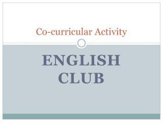 Co-curricular Activity