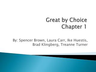 Great by Choice Chapter 1