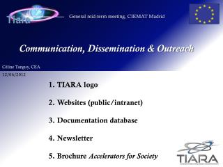 Communication, Dissemination & Outreach