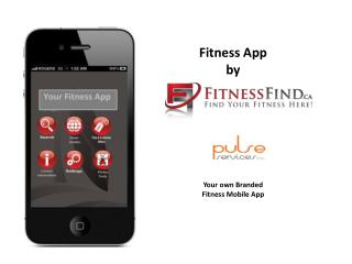 Fitness App by  Your own Branded  Fitness Mobile App