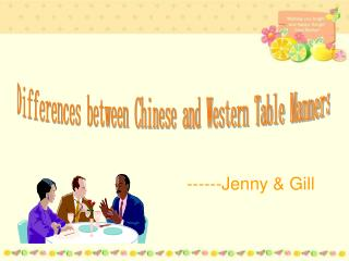 Differences between Chinese and Western Table Manners