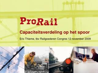 Capaciteitsverdeling op het spoor