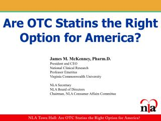 Are OTC Statins the Right Option for America?