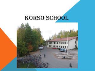 Korso  school