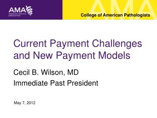 Current Payment Challenges and New Payment Models