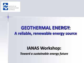- Geothermal Energy -