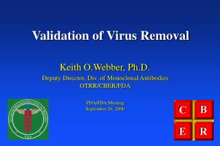 Validation of Virus Removal