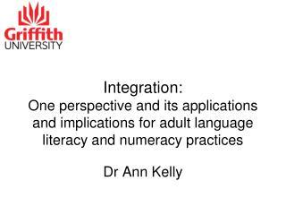Dr Ann Kelly