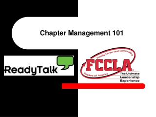 Chapter Management 101