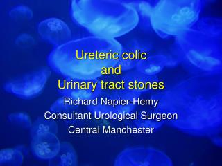 Ureteric colic and Urinary tract stones