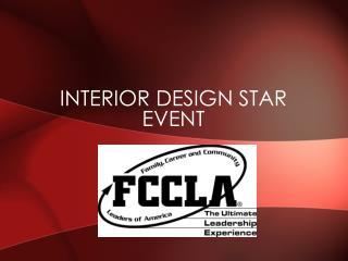 Interior Design STAR Event
