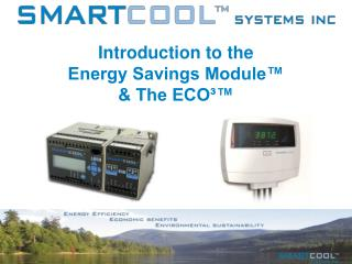 Introduction to the Energy Savings Module   The ECO