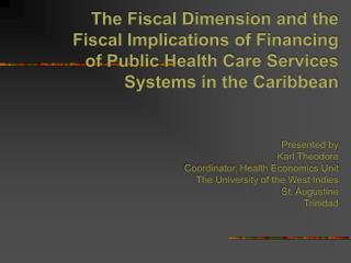 Fiscal Dimension