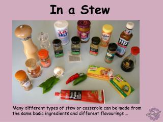 In a Stew