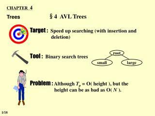 §4  AVL Trees