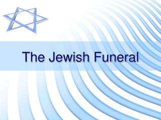 The Jewish Funeral
