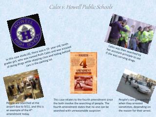Cales  v. Howell Public Schools