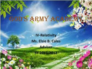 God's Army Academy