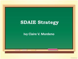 SDAIE  Strategy