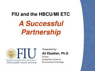 FIU and the HBCU