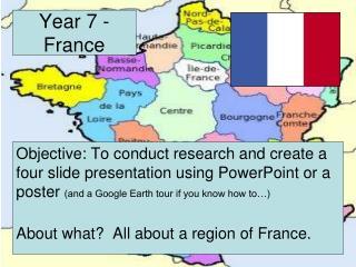 Year 7 - France