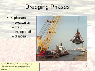 Dredging Phases