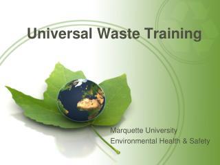 Universal Waste Training
