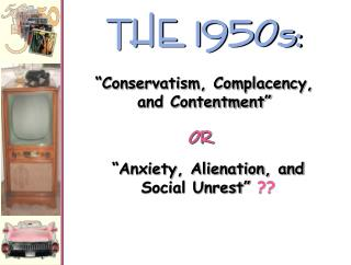 THE 1950s: