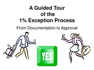 A Guided Tour  of the  1% Exception Process