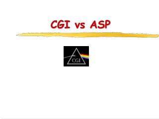 CGI vs ASP