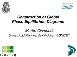Construction of Global Phase Equilibrium Diagrams