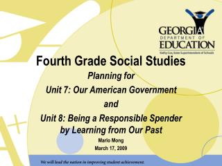 Fourth Grade Social Studies
