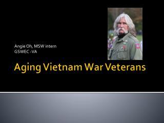 Aging Vietnam War Veterans