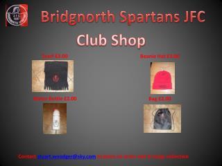 Bridgnorth  Spartans JFC